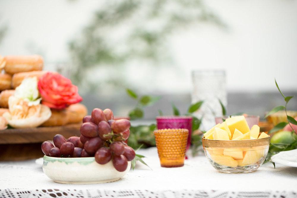 Colorful Boho Table