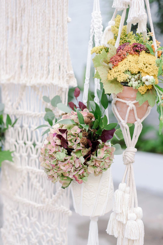 Boho Macrame Wedding Decor