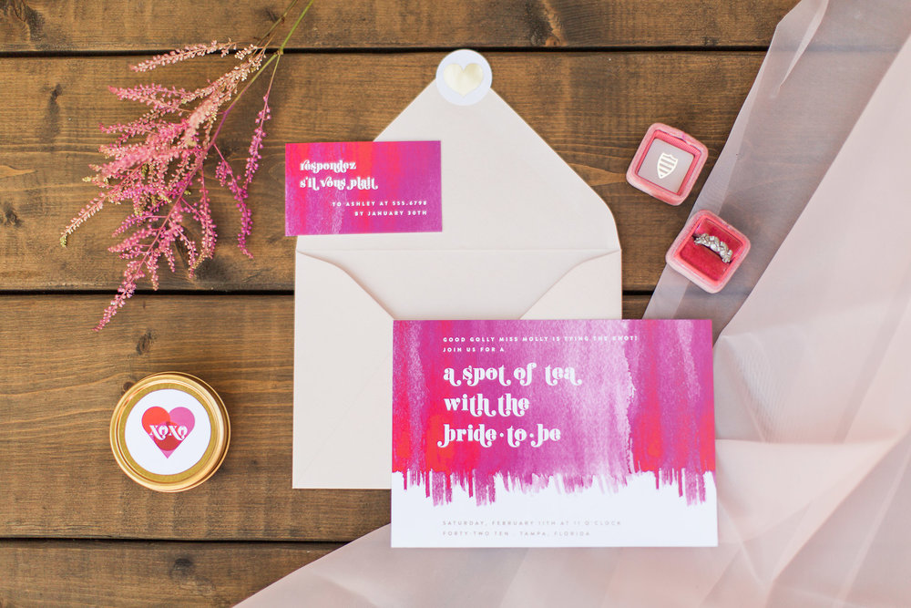 Ombre Valentine's Day Party