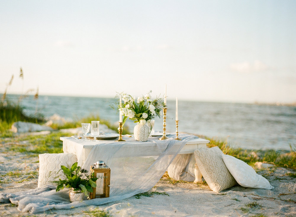 Wedding Boho Elegant Low Table