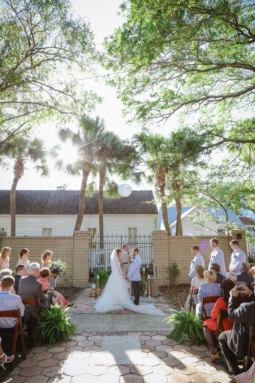 Ybor Museum Garden Ceremony