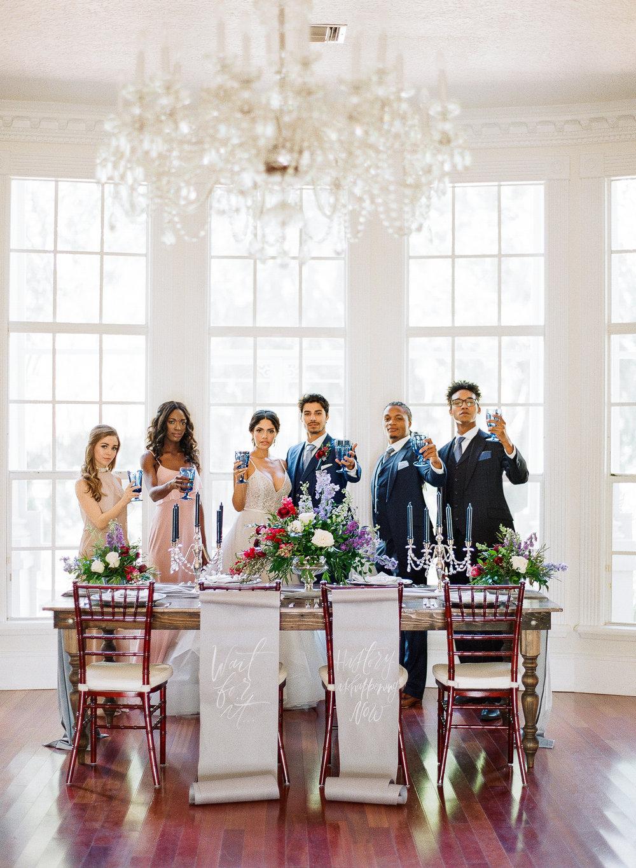 Hamilton Inspired Wedding