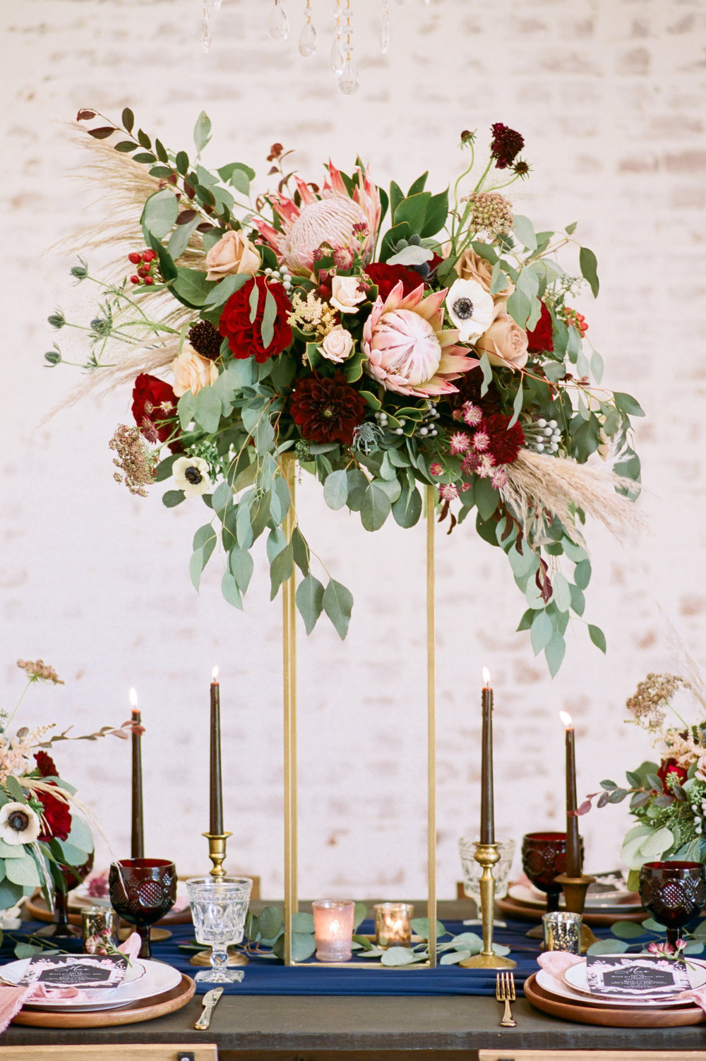 Tall Modern Boho Centerpiece