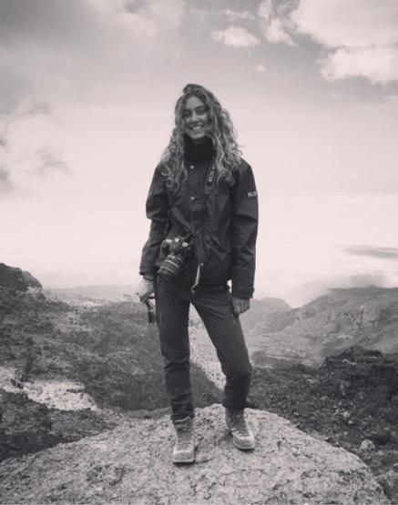 Smiling at the top of the Baranco Wall, 4100m amsl, Kilimanjaro, Tanzania, September 2016