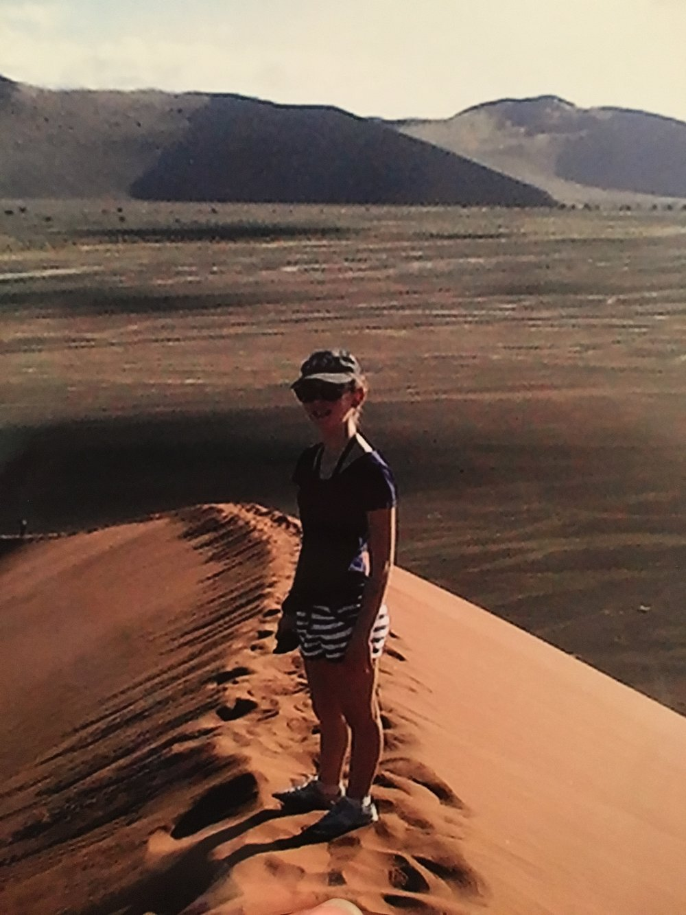 Dune 45, 7 years ago - had smaller legs