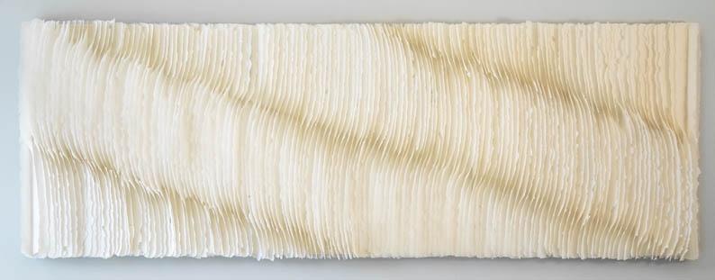 Deepening Journey  9' x 3' | Handmade paper |Kandis Sousol