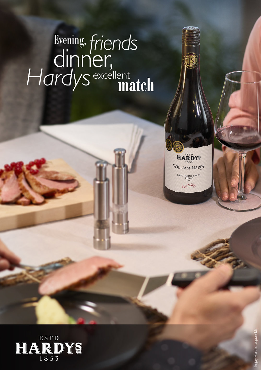 CAMPAIGN | HARDY'S WINES
