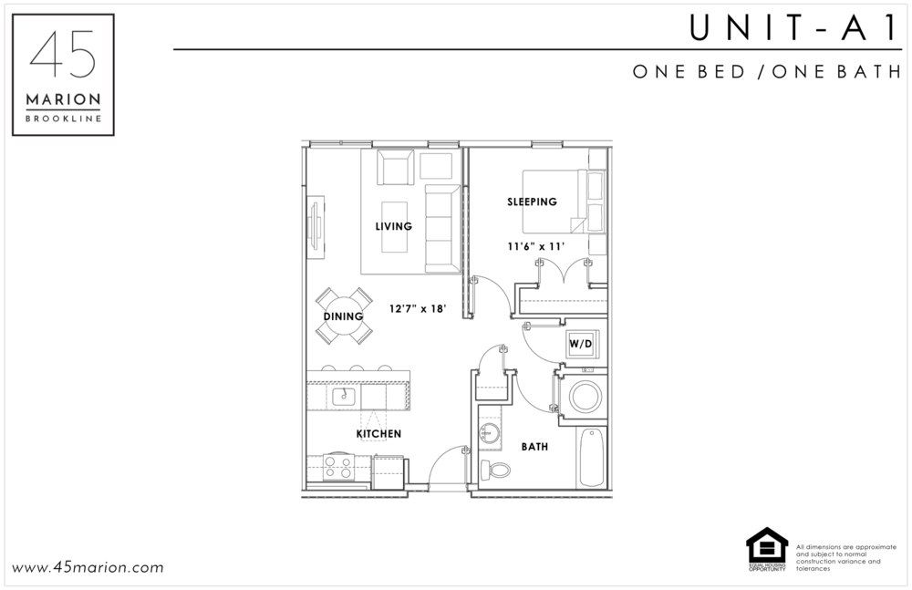 One Bed / One Bath
