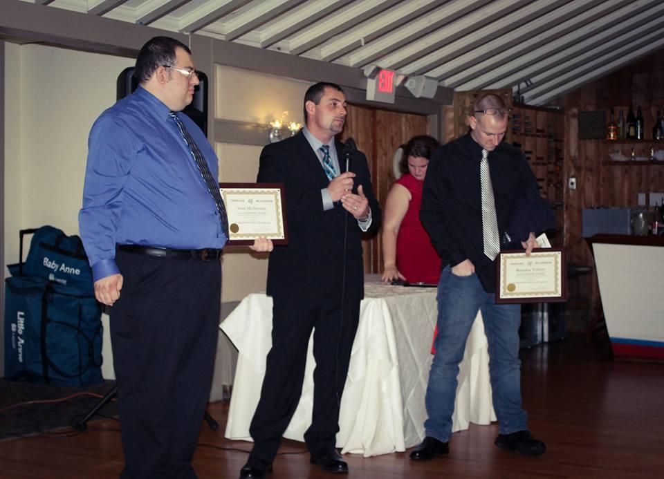Left to right: Sean, Demetri & Brandon.