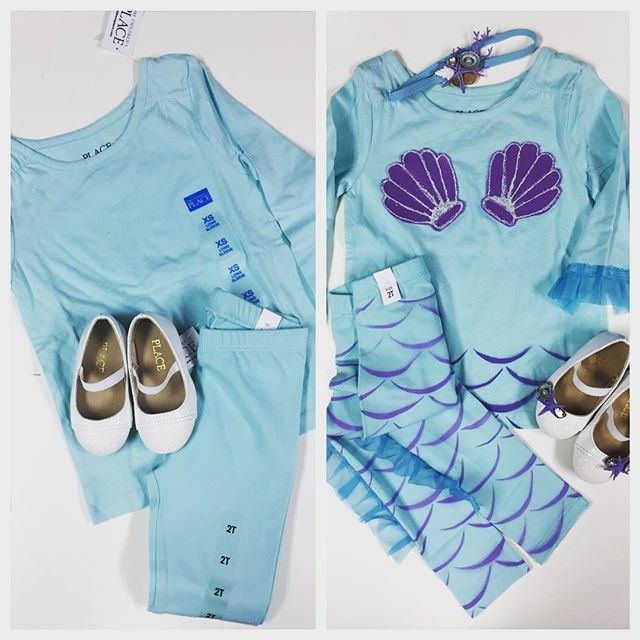 Makeover Magic ✨ #qdrenewaldesign #seaqds #mermaidclothing #mermaids #customdesign #babybirthdayoutfit #mermaidlife #mermaidobsession #virtuosotattookrew
