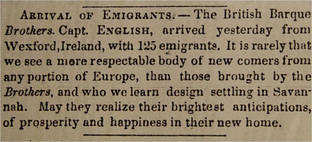 Savannah Daily Morning News  (6 December 1850) p. 2