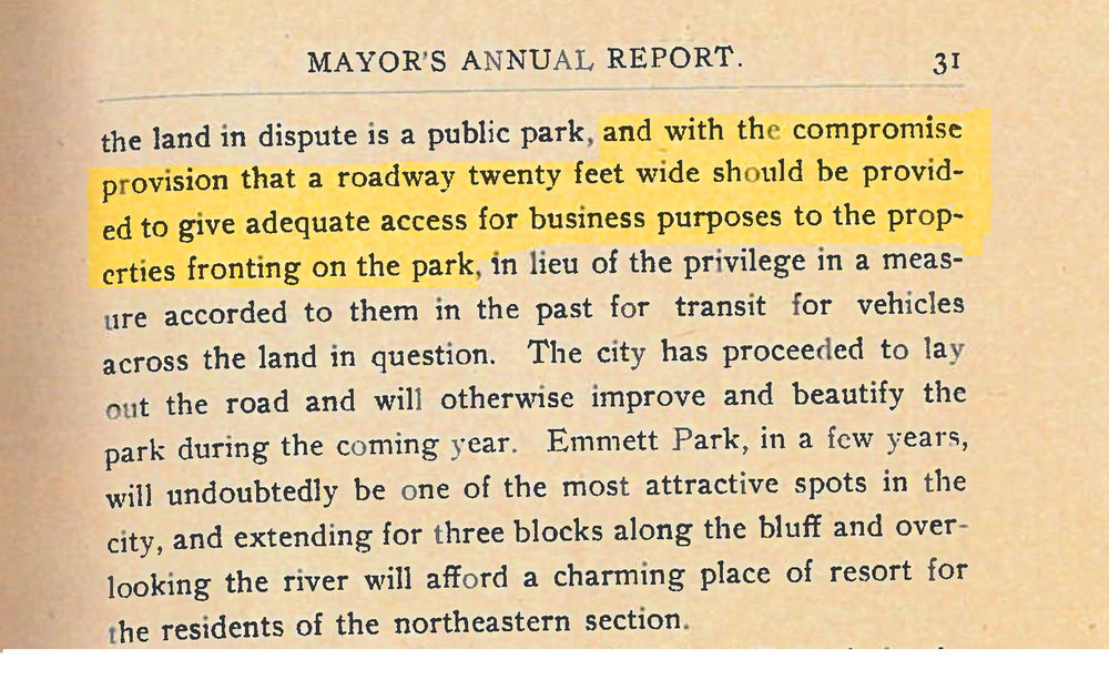 Municipal Reports of the City of Savannah . (1904) p. 31, City of Savannah Research Library & Municipal Archives, Savannah, Georgia.