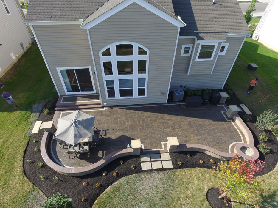 Alder Patio by 9 Trees Landscape Construction