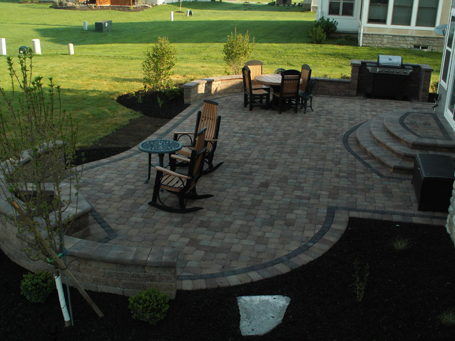 Brown Patio
