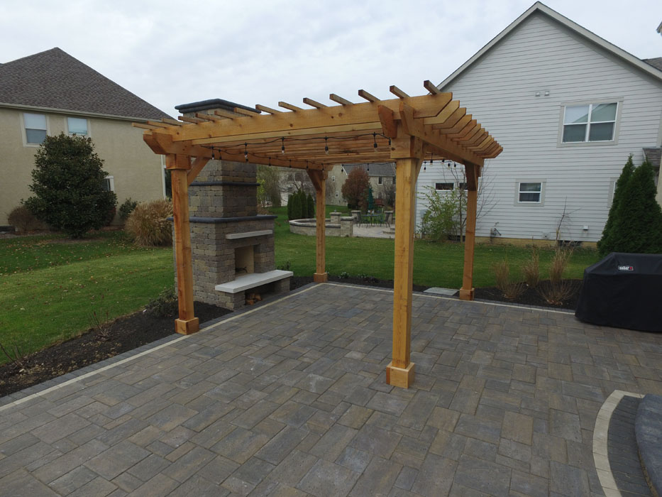 Yap Outdoor Fire Place