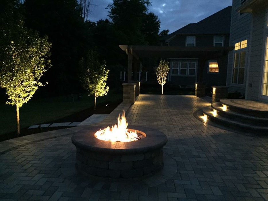 Thorn Gas Fire Pit
