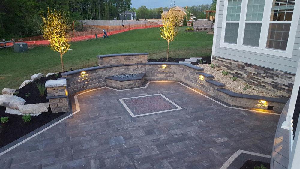 Kirsch Built-In Fire Pit