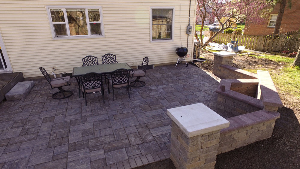 Cook Trapezoid Built-In Fire Pit