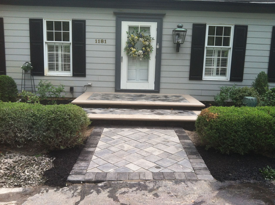 Reed Front Walkway and Porch