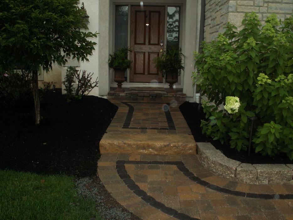 Debellis Front Paver Walkway