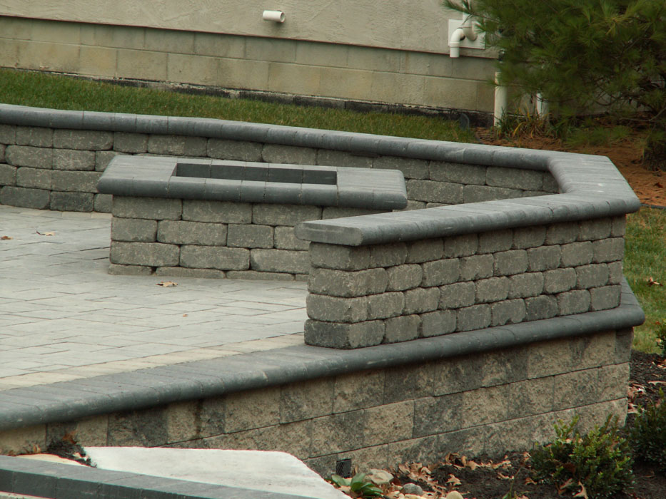Carter Seat Walls on Versa Lock Retaining Walls