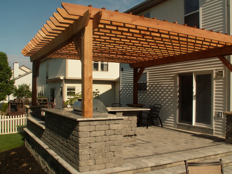 Notestine Custom Pergola