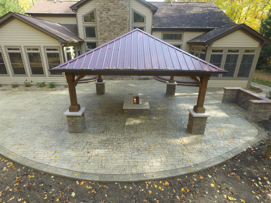 Neltner Pavilion with Metal Roof