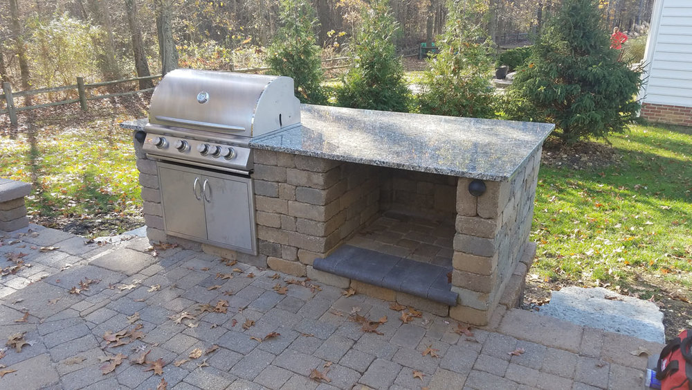 Kaufman Built-In Grill Reno