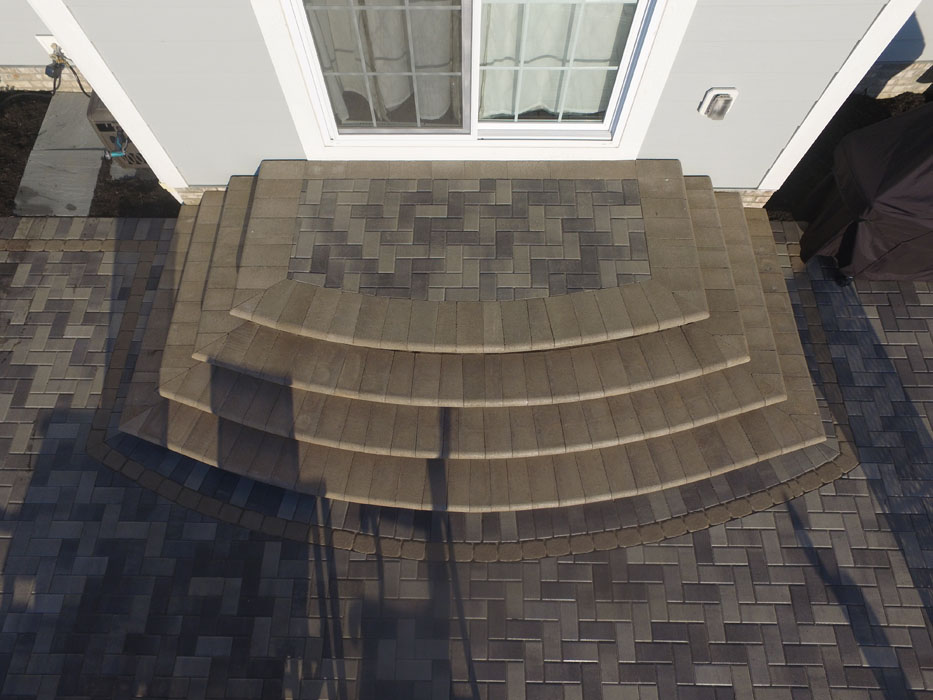 Somerlot 3 Directional Curved Face Steps