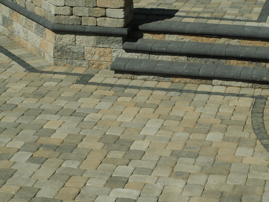 Church Bullnose Steps to Upper Level