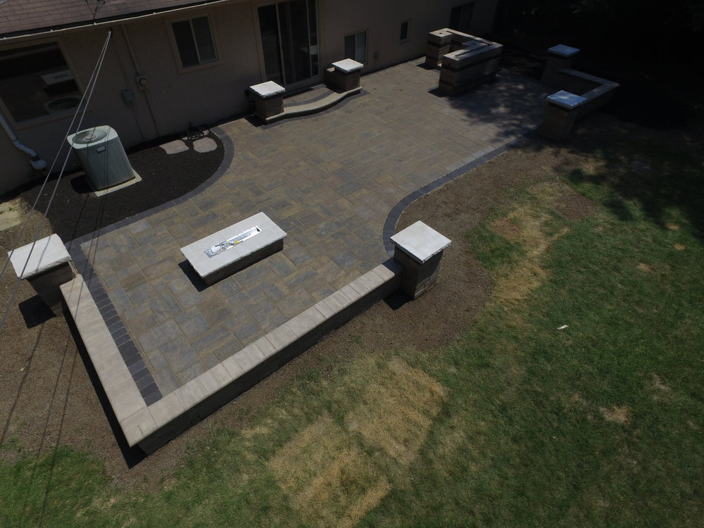 Foley Upper Arlington Paver patio