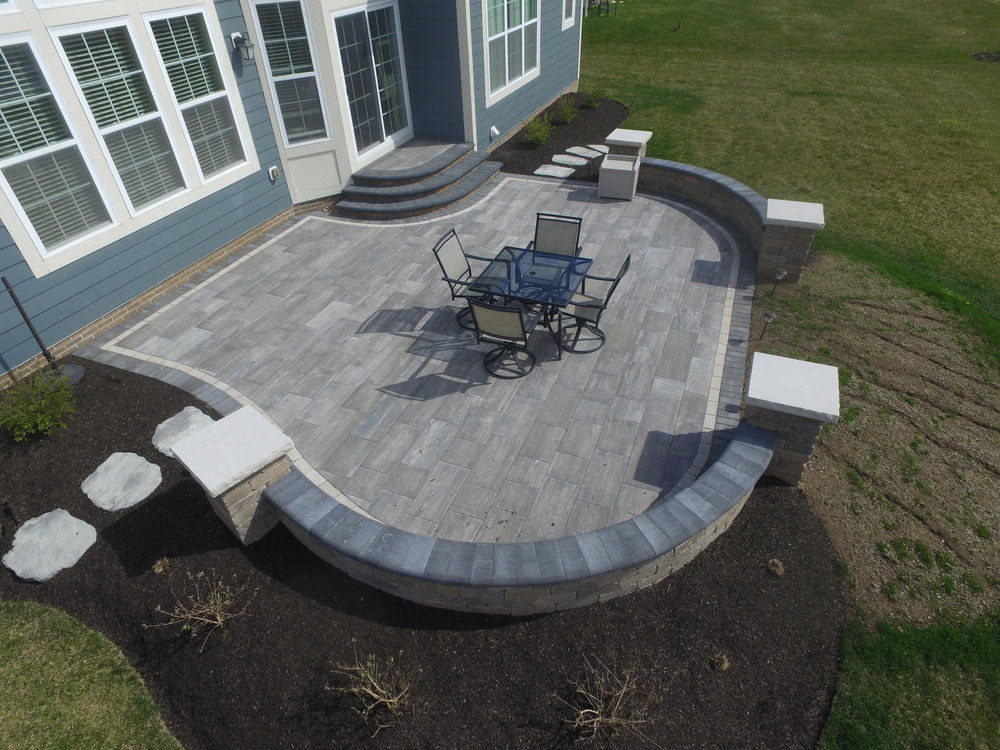 Middleton Paver patio