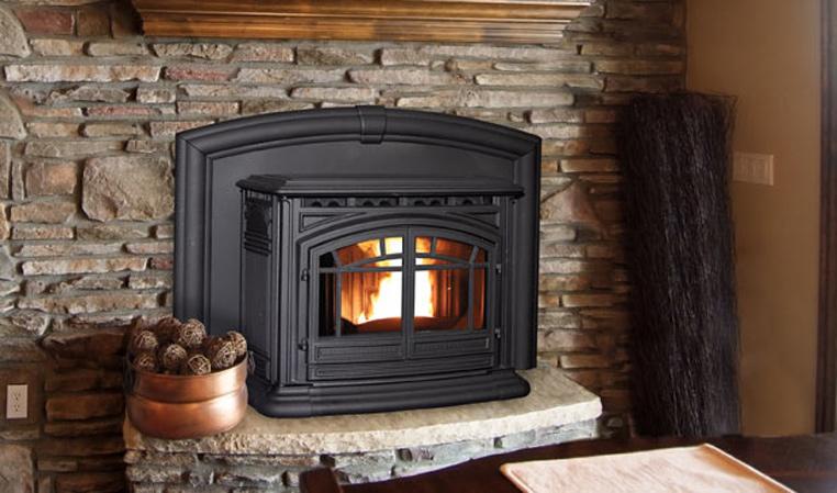 Enviro M55 Cast Iron Pellet Fireplace Insert