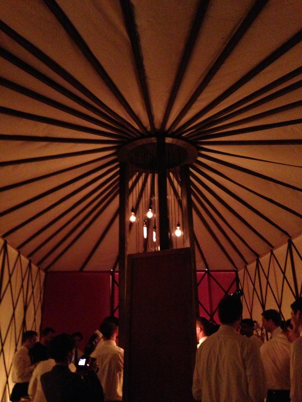 Louis Vuitton Custom Yurt