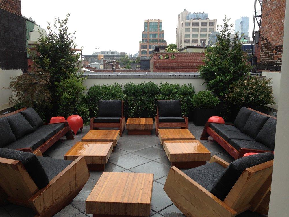 Shinola Rooftop Garden