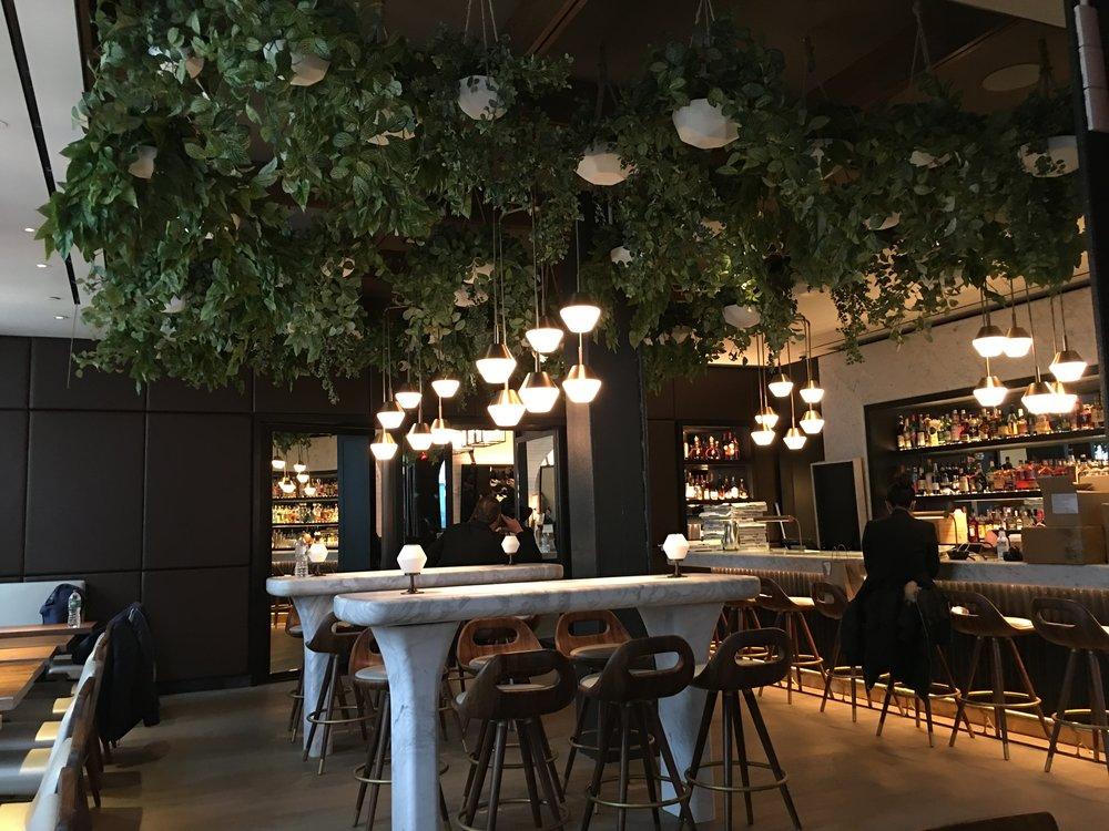 Scarpetta Foliage Installation