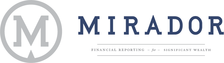 MIRADOR FINANCIAL REPORTING