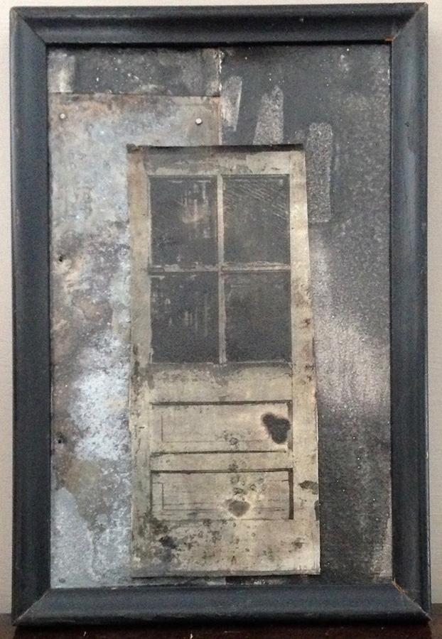 """""""Portal II"""" collage 6"""" x 9"""""""