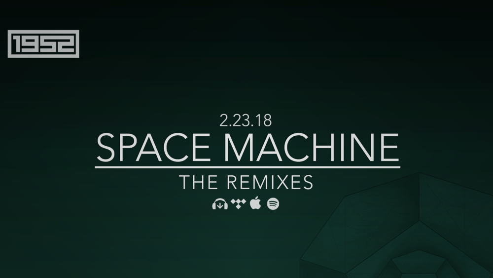 Available now. Space Machine: The Remixes