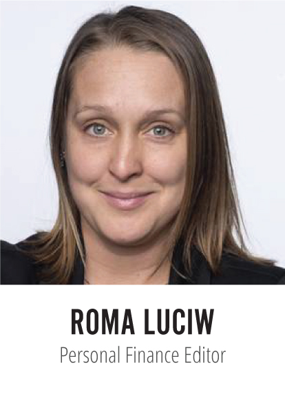 Roma Luciw Globe and Mail Personal Finance Editor