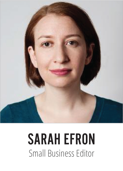Sarah Efron Globe and Mail Small Business Editor