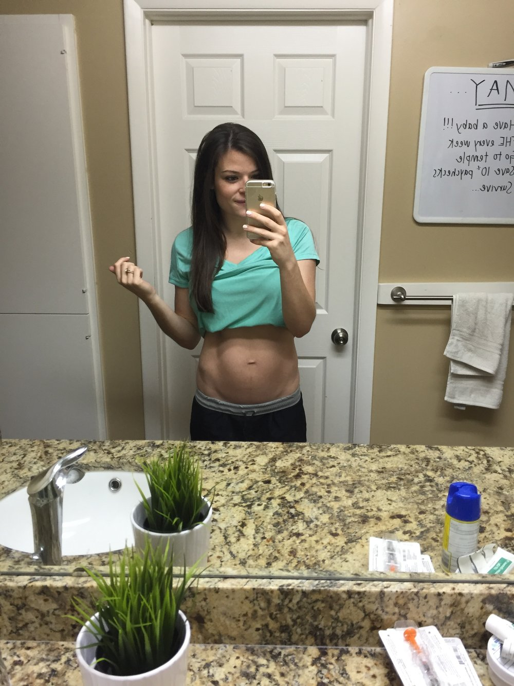 One week postpartum