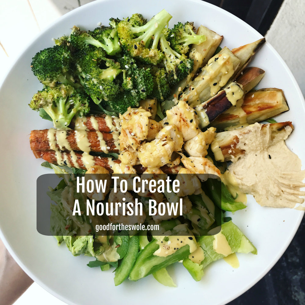 How To Create A Nourish Bowl