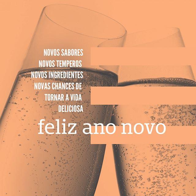 Desejamos a todos um Feliz Ano Novo! #EatGreenUp #FelizAnoNovo