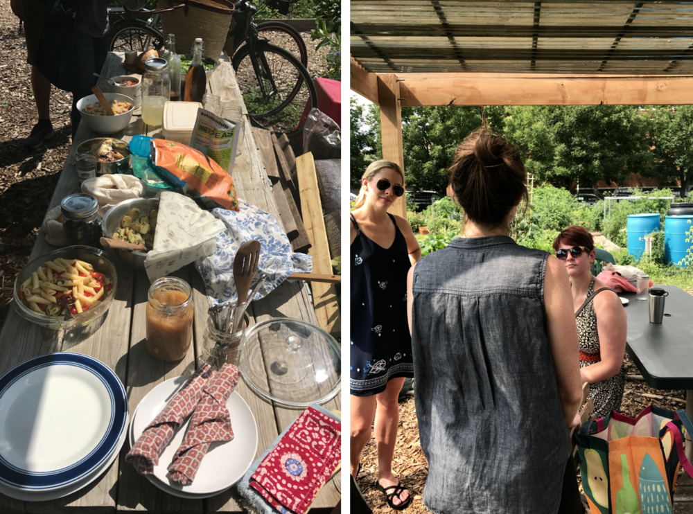 Zero Waste Chicago picnic potluck