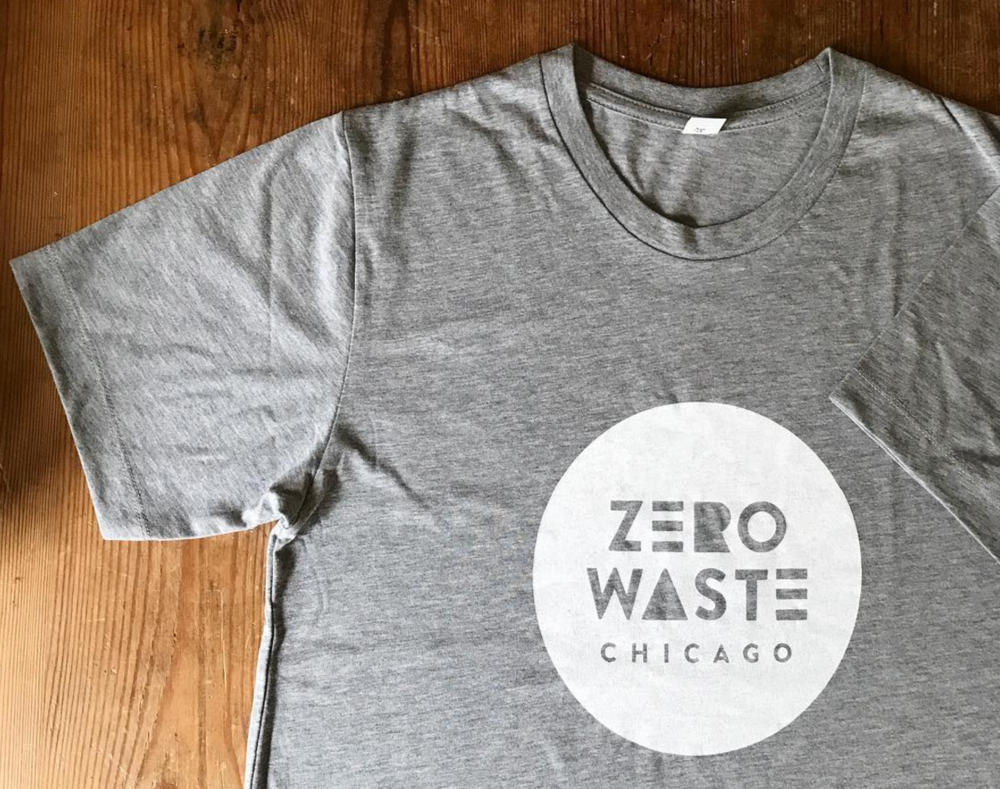 Zero Waste Chicago t-shirt