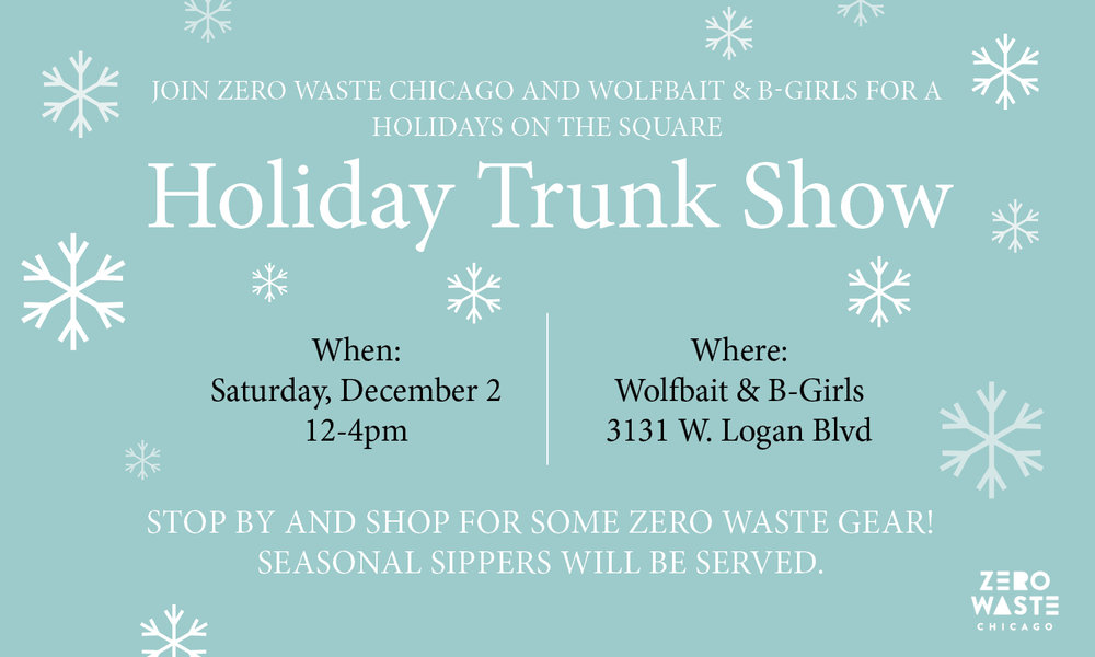 Wolfbait Trunk Show | Zero Waste Chicago