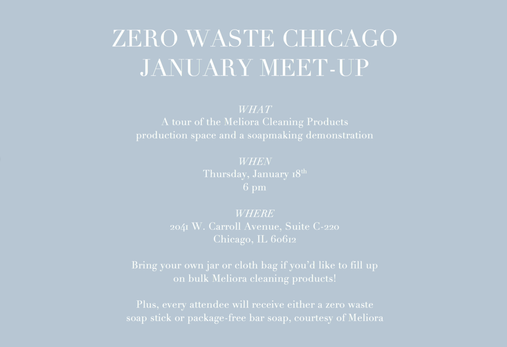 January ZWC meet-up x Meliora Cleaning Products