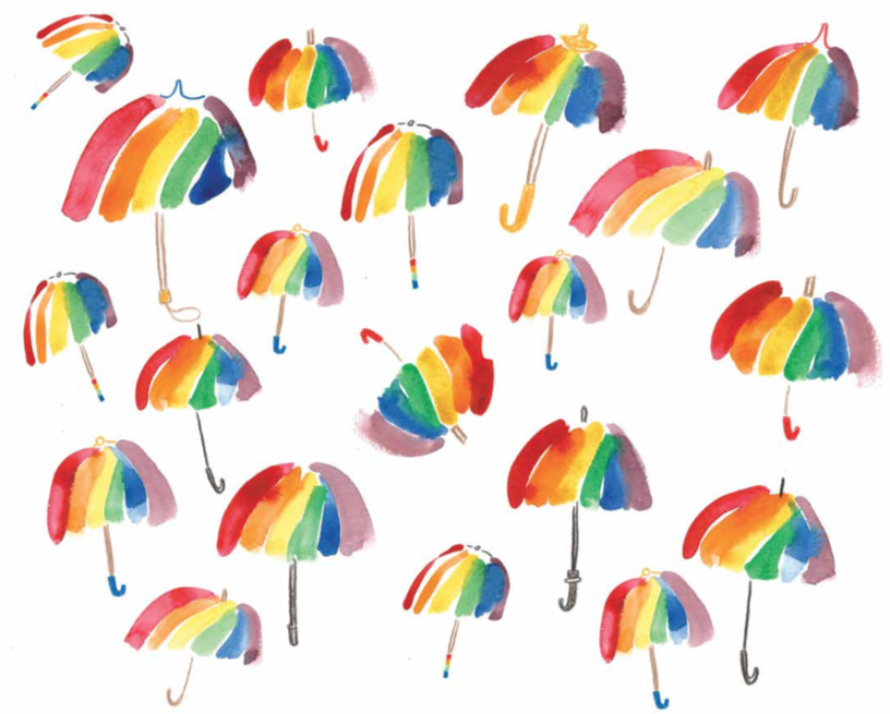 Umbrella Bella endpapers katie chappell illustrator childrens picture book.png