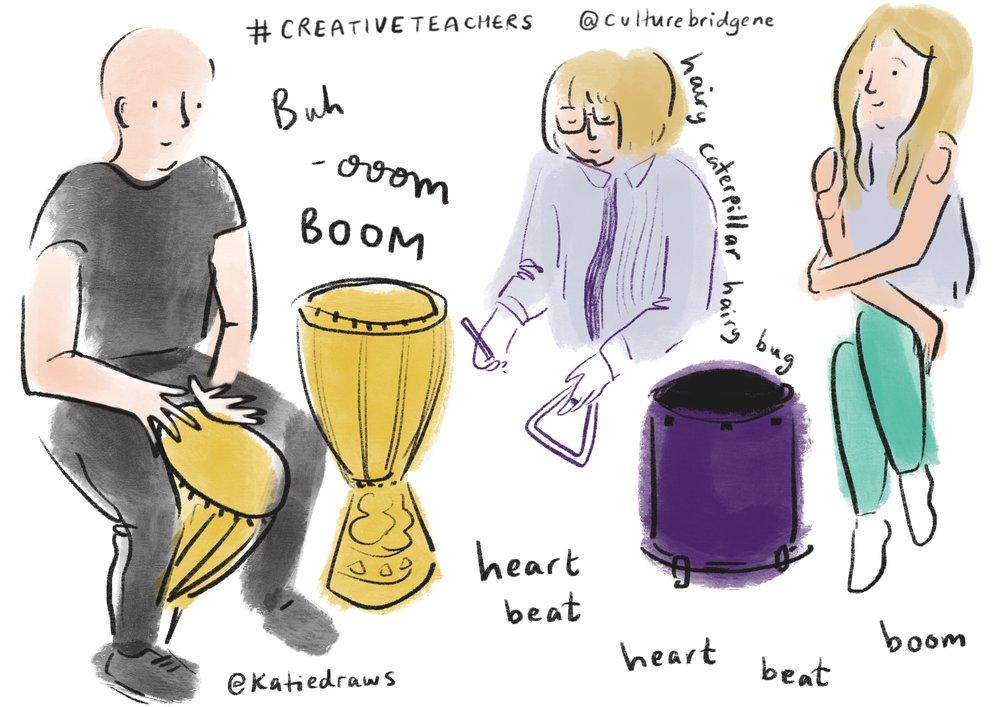 Big Creative Teachers Event - live event illustrator UK.jpg